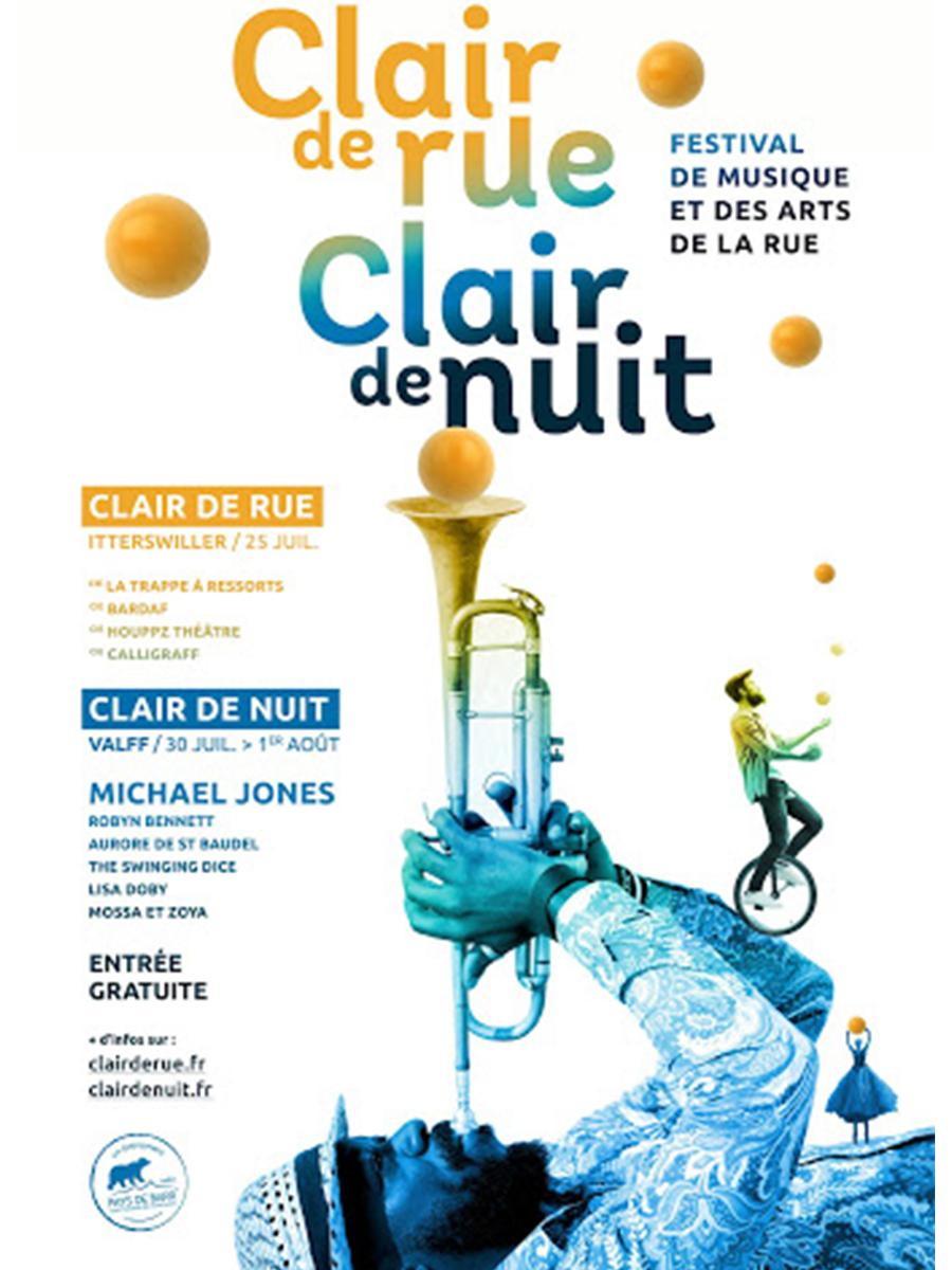 Festival Clair de rue / Clair de Nuit 2021